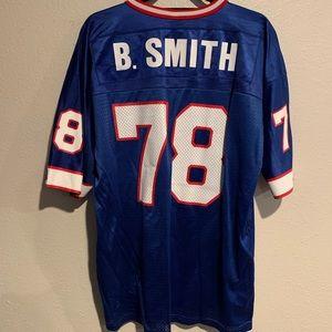 Bruce Smith Buffalo Bills Blue #78 Champion Jersey